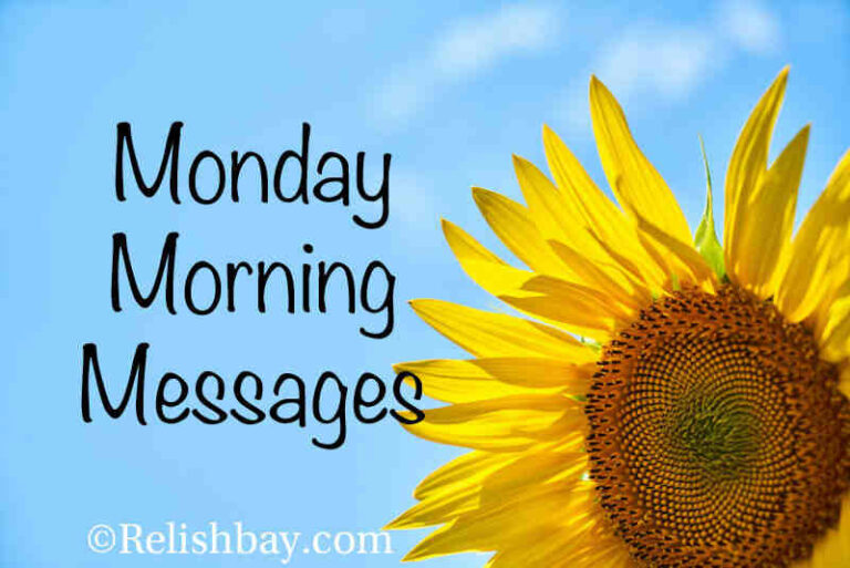 Monday Morning Messages and Images