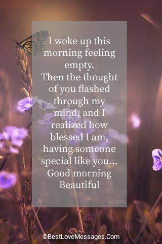 Cute Paragraphs for Her To Wake Up To Image