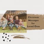 Christmas Messages for Loved Ones Image