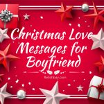 Christmas Love Messages for Boyfriend Image