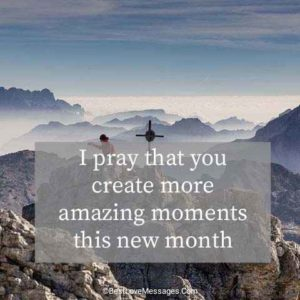 Happy New Month Messages and Prayers