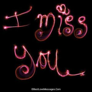 I Miss You Text Messages for Him