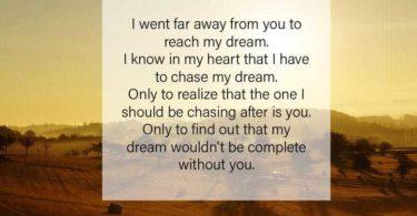 Long Distance Romantic Messages