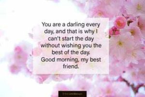 Lovely Good Morning Messages for Friends