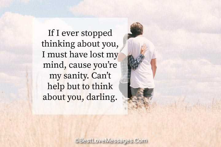 Romantic Thinking of You Quotes for Her