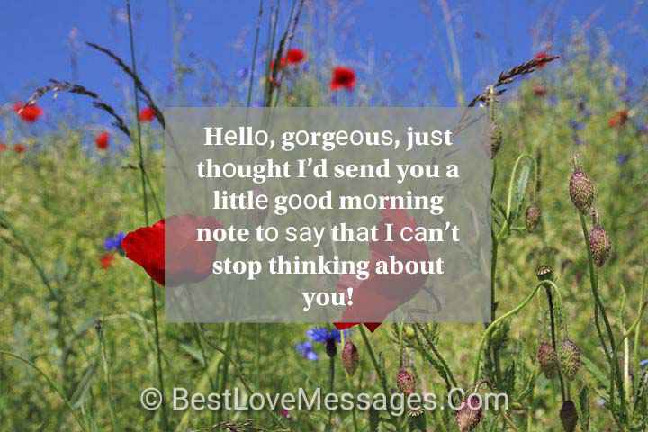 Perfect Good Morning Love Messages for Boyfriend
