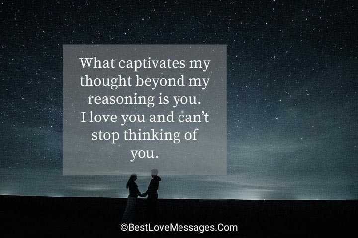 Thinking of You Quotes for Her