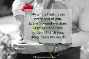 Love Messages for Him Image
