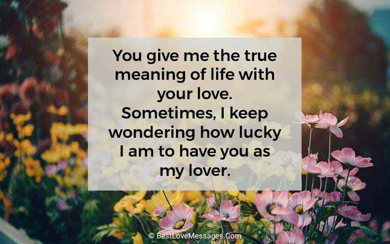 Cute Love Messages to Send to Your Girlfriend Image