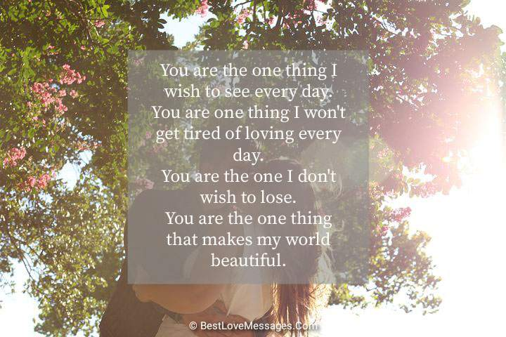 Romantic Love Messages for Him to Make Him Happy Image