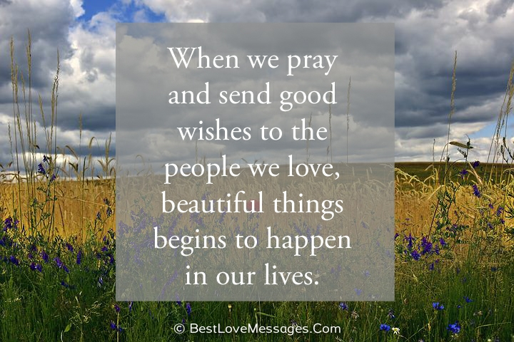 Praying for you quotes