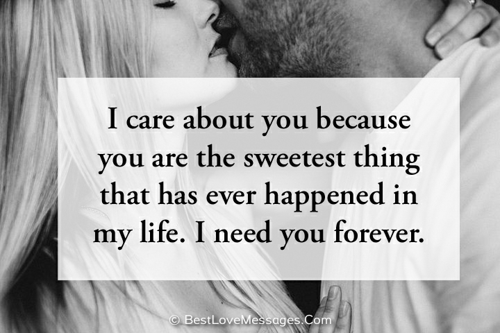 Perfect I Need You Message for Him or Her