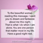 Good Night Text Messages for Her