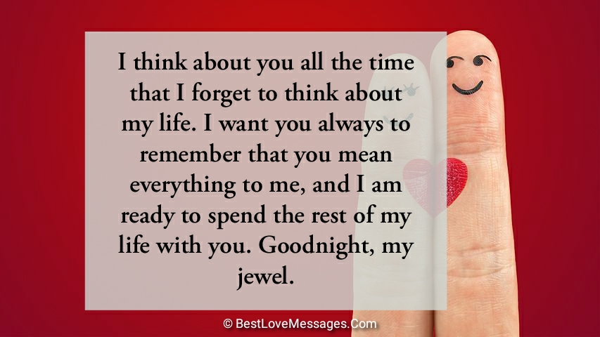 Romantic Good Night Messages for The One You Love