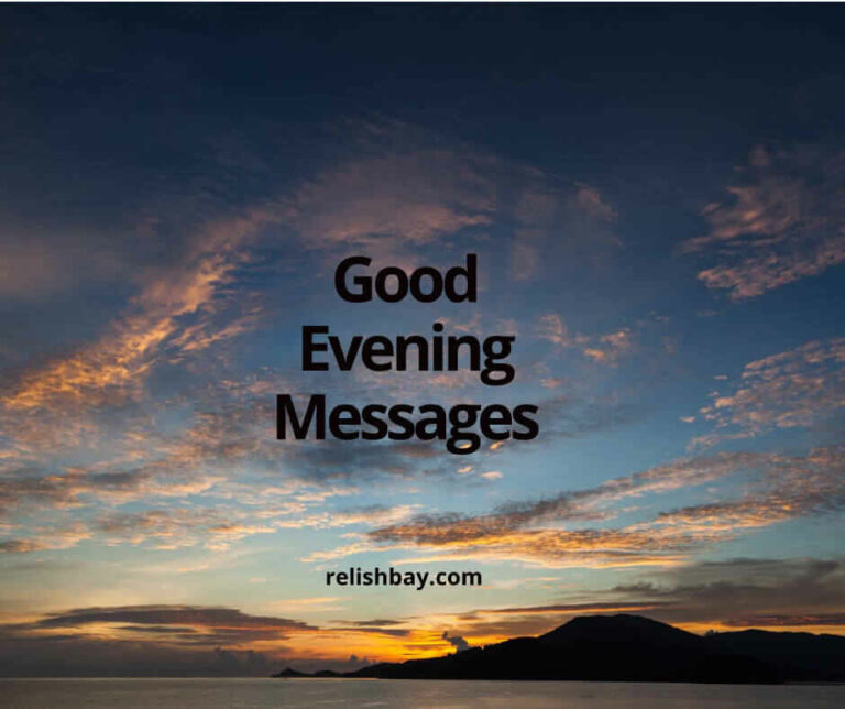 good evening messages for him image
