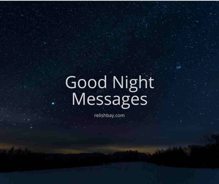 good night messages for my love Image