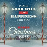 Christmas Wishes for Boss Image
