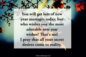 Happy New Year for Best Friend