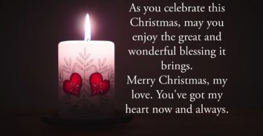 Heartfelt Christmas Wishes for Husband