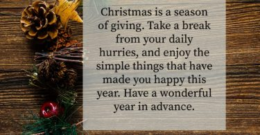 Christmas Messages to Loved Ones