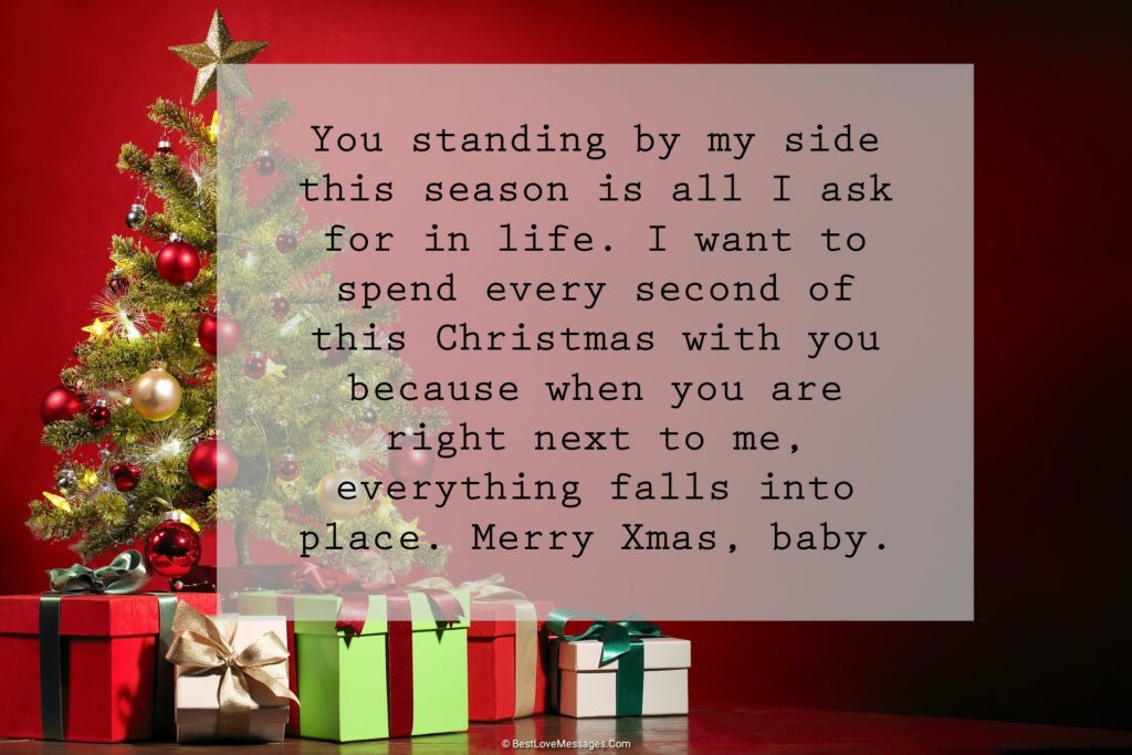 Romantic Christmas Messages for Loved Ones
