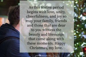 Cute Christmas Messages for Boyfriend Long Distance