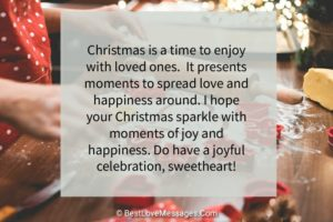 Christmas Love Messages for Girlfriend