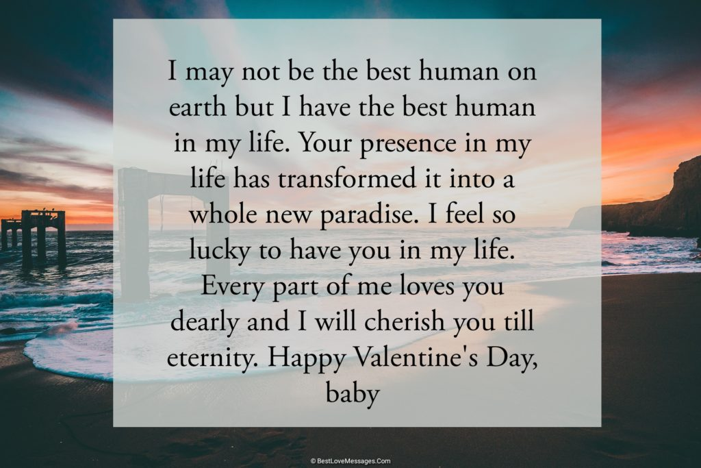 Lovely Valentines Day Messages of Love