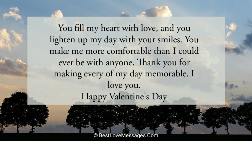 Valentine's Day Messages for Him Long Distance
