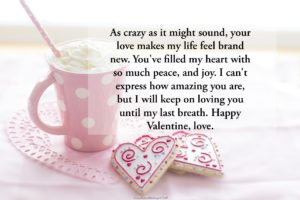 Romantic Love Messages on Valentine's Day