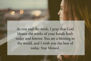 Friday Blessings Quotes Image