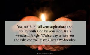 Wednesday Blessings Quotes Image