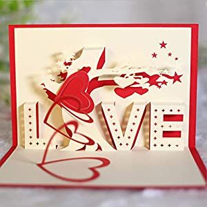 Romantic Pop-up Card