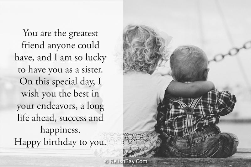 Lovely Birthday Prayers for Sister