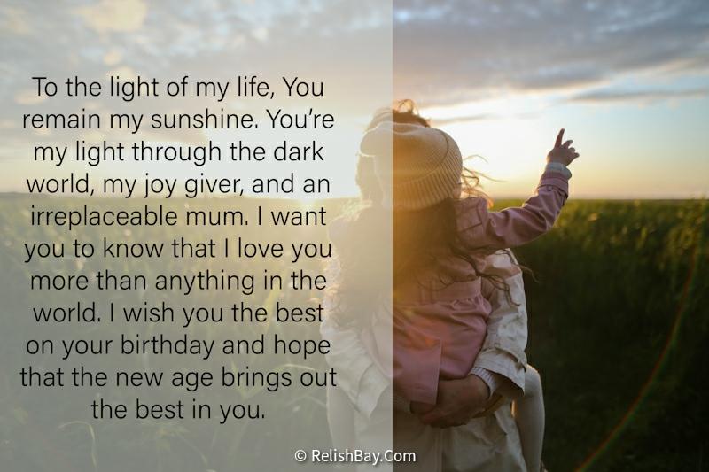 Lovely Happy Birthday Mom Paragraphs