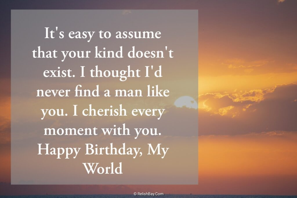 Birthday Messages to Husband