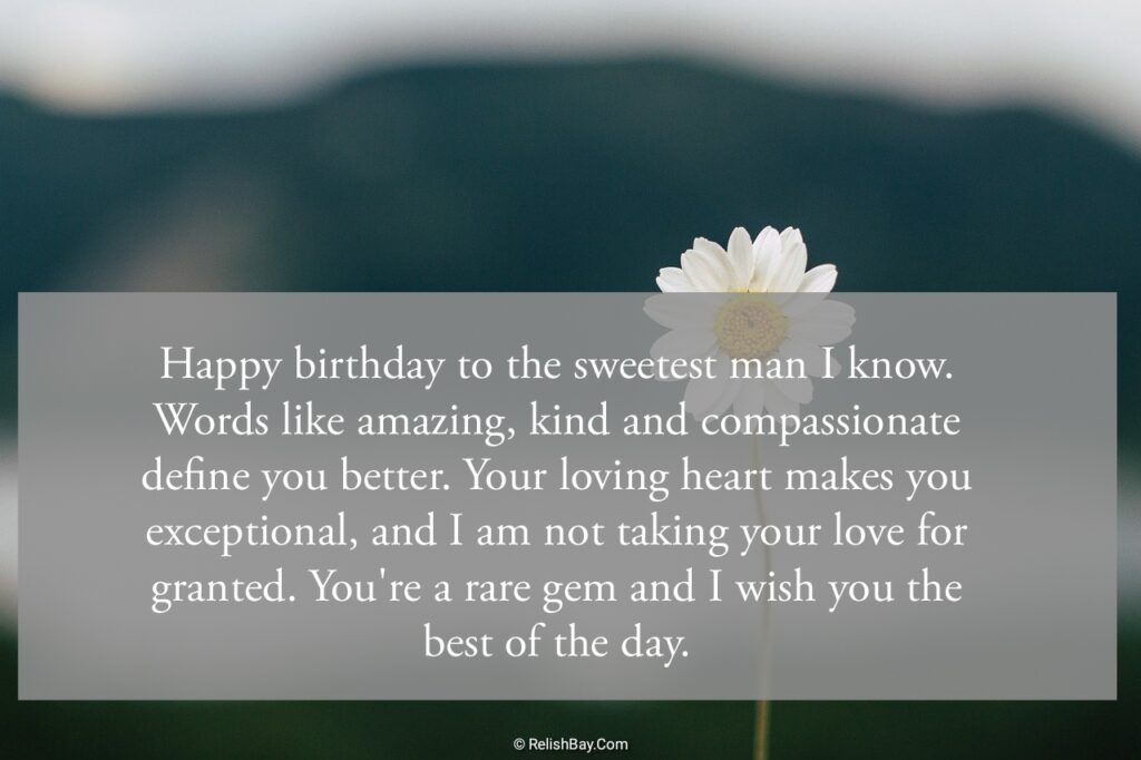 Happy Birthday Messages to Husband