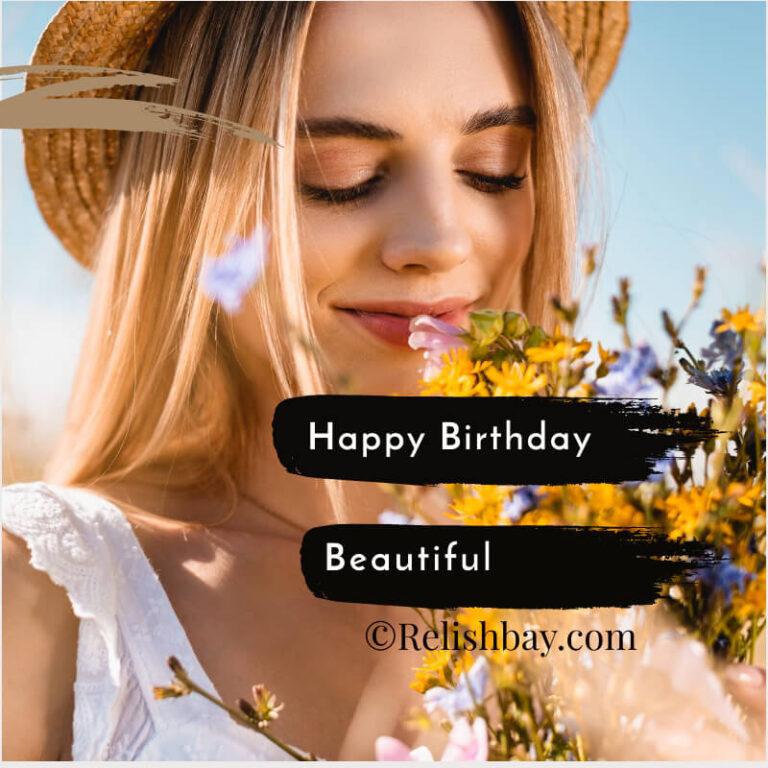 Happy birthday beautiful image
