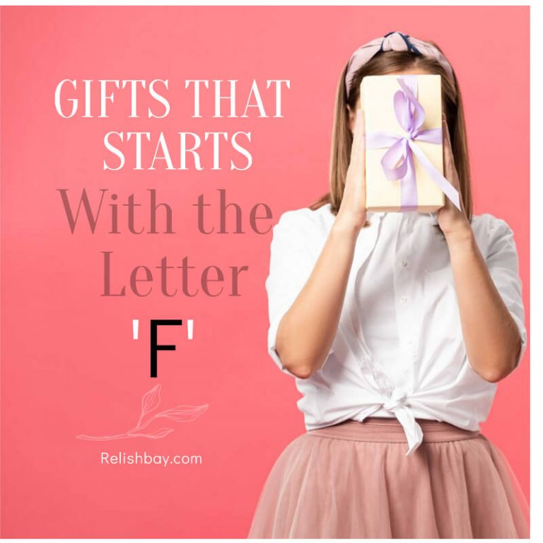 "Best Gifts That Start With The Letter ""F"""