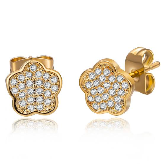 20th Wedding Anniversary Gift Ideas for Her: Diamond Earrings