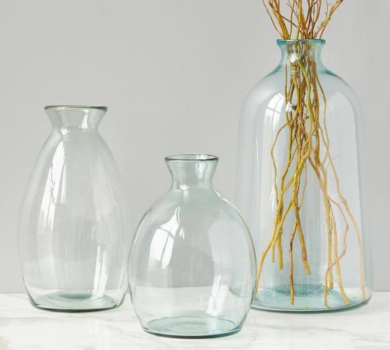 Yowie Blush Glass Vase