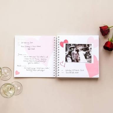 Custom Anniversary Book