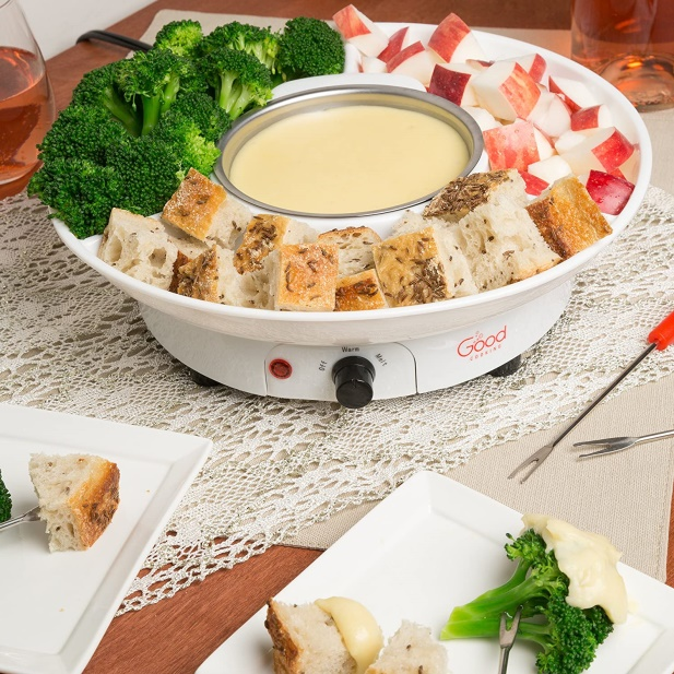 FOUNTAIN FONDUE POT SET