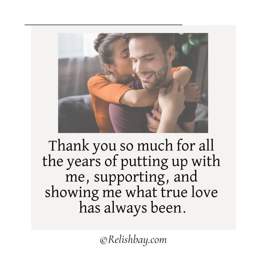 Appreciation Messages for Him