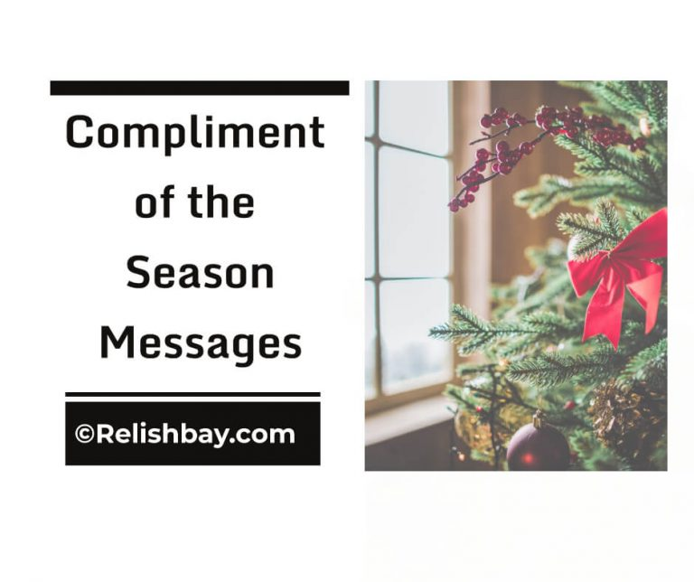 Compliment of the season messages