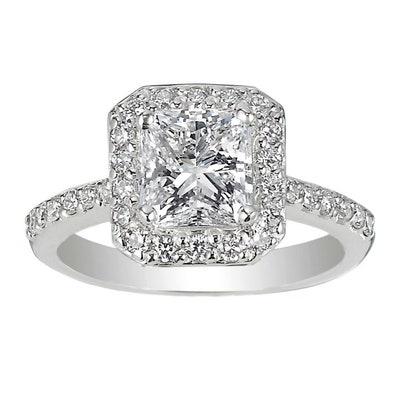 Double Diamond style ring