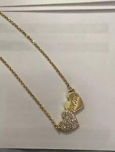 Spade Heart Pendant Necklace