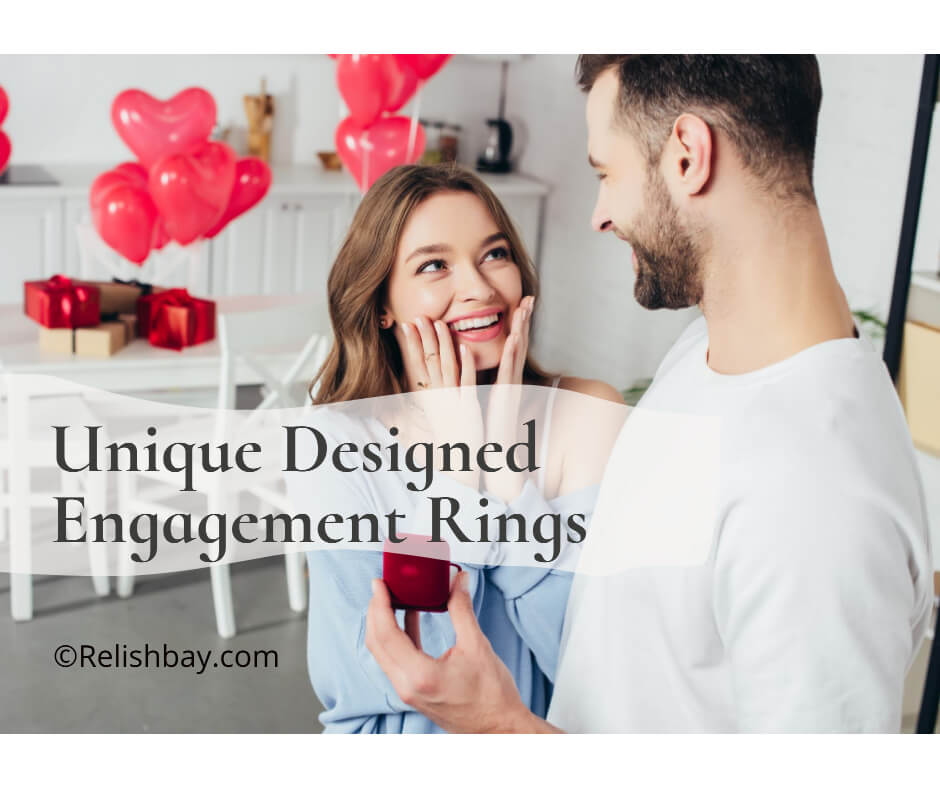 Unique Designed Engagement Rings