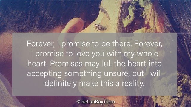 Promise Love Messages