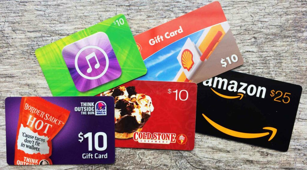 Gift Card Alternative to Flowers for Girlfriend